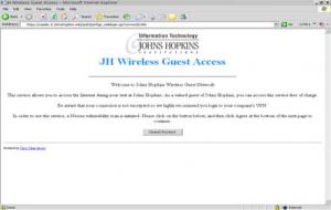 JH Wirless Guest Access